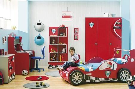 Dormitorio infantil para ni os que les guntan los carros for Juego de dormitorio para ninos
