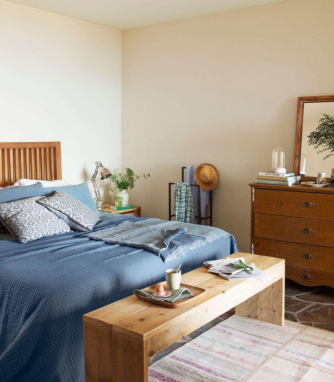 Dormitorio Principal Con Banco A Pie De Cama Ideas Para