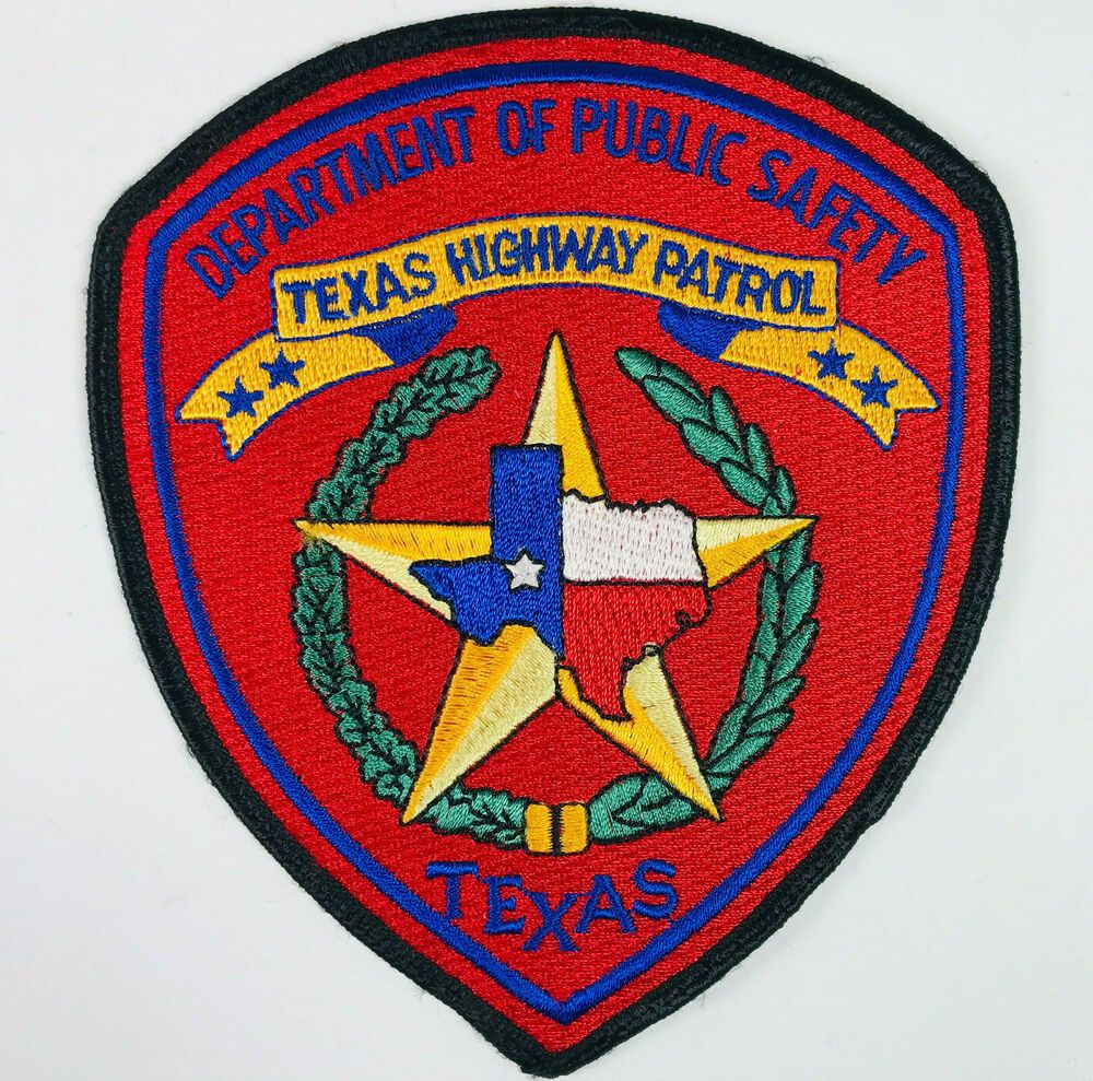 Texas Highway Patrol Department Of Public Safety Patch