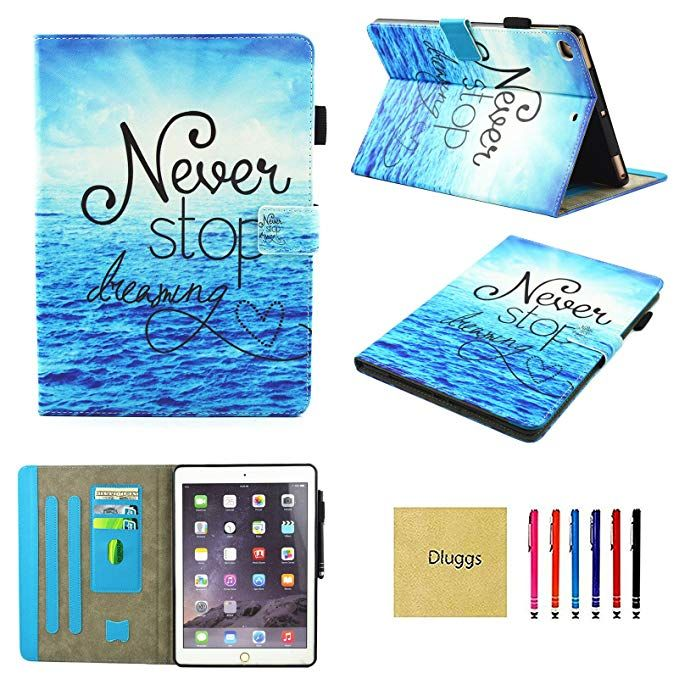 the latest b4fc9 45b2c Amazon.com: iPad Air 2 Case, New iPad 2017 Case, iPad 9.7 2018 Case ...
