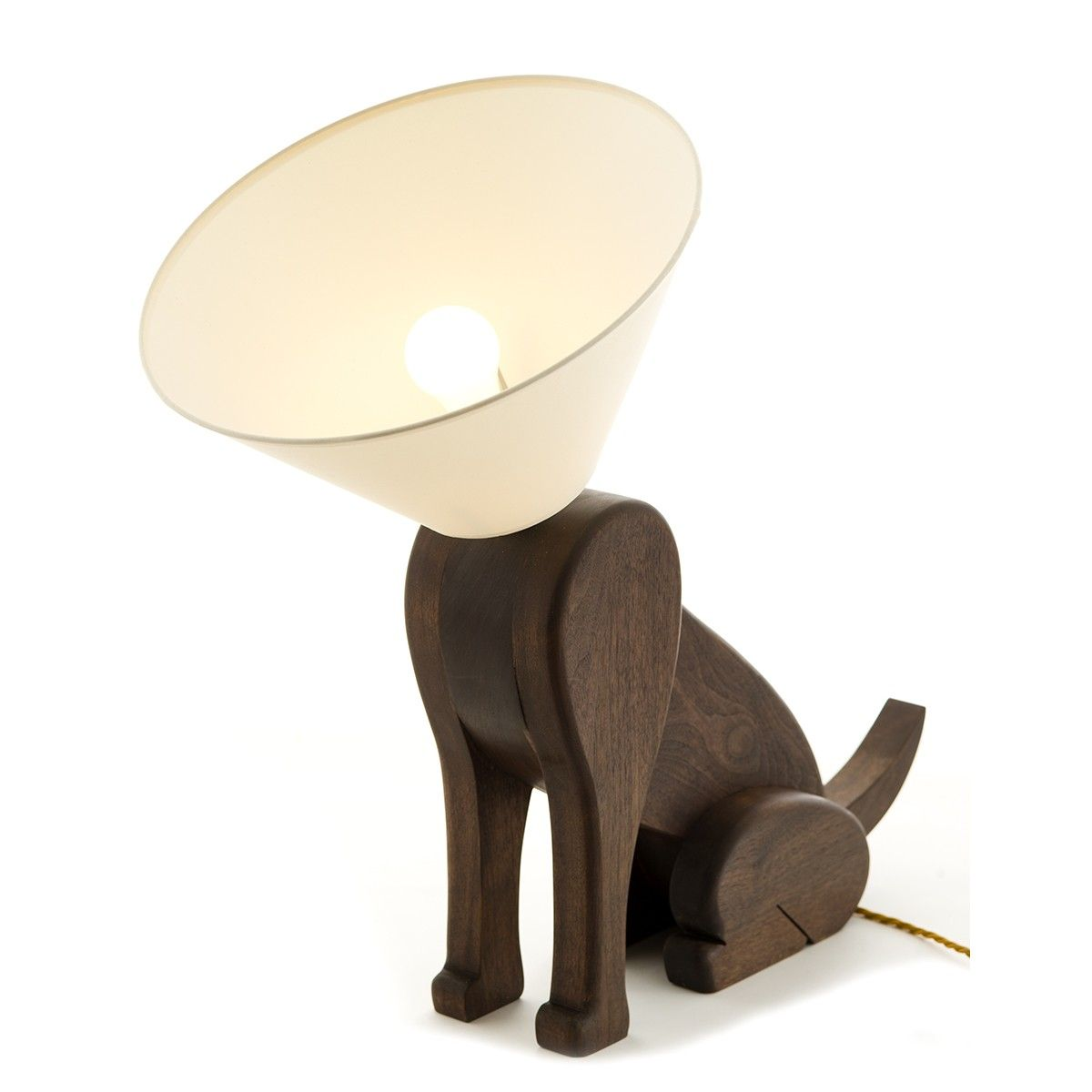 Sitting Dog Lamp With Collar Of Shame Dog Lamp Lamp Mood Lamps