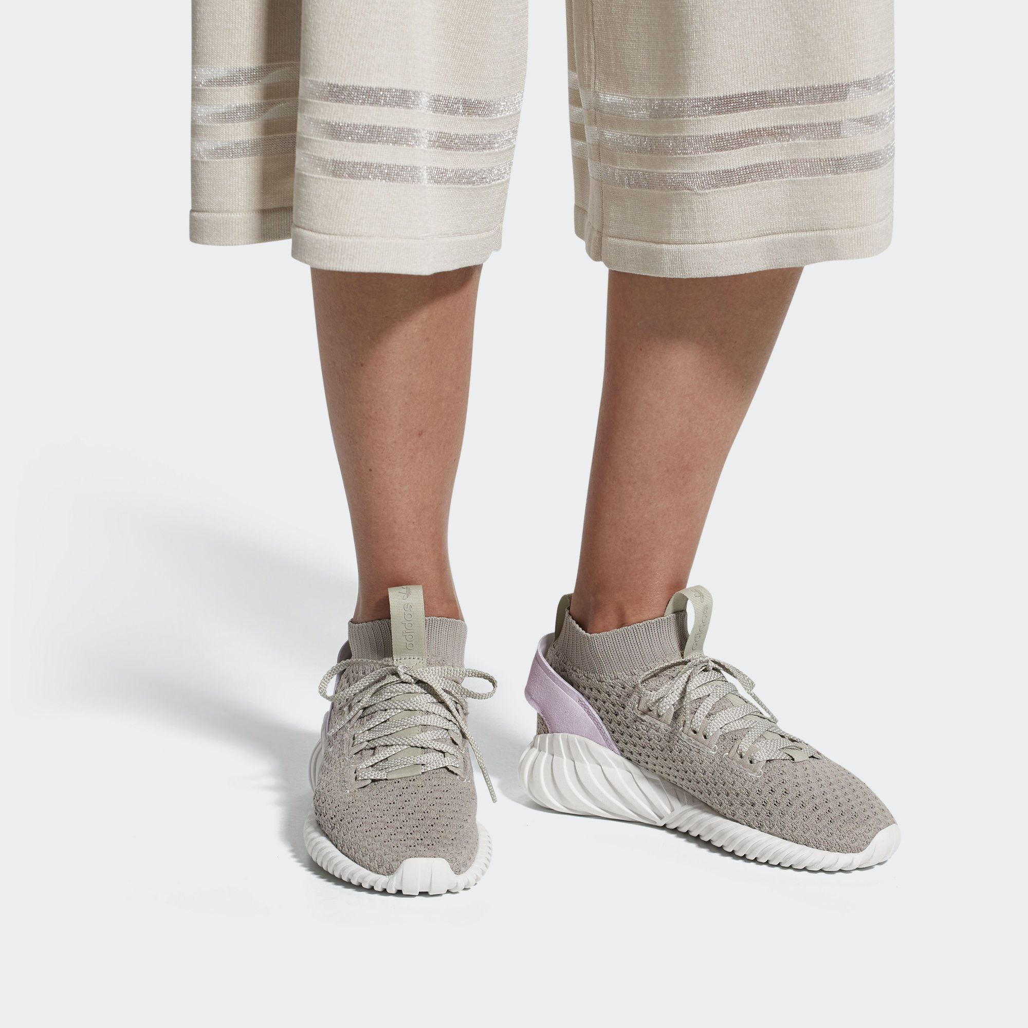 sold worldwide low price sale outlet online ADIDAS ORIGINALS TUBULAR DOOM SOCK PRIMEKNIT LIGHT BROWN ...