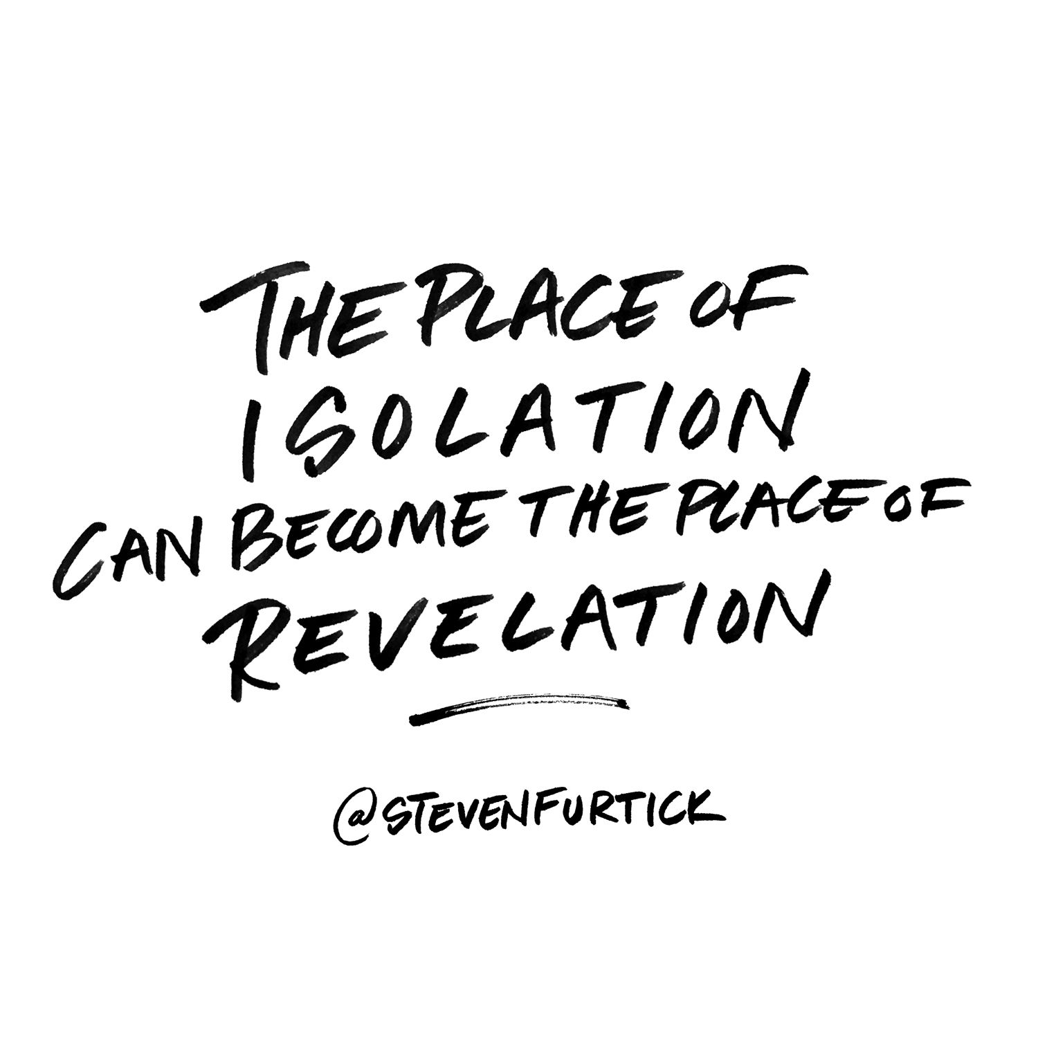 Pastor Steven Furtick, quote from the sermon Hidden Issues