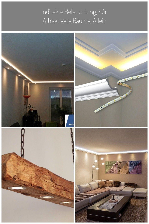 Led Stuckleisten Indirekte Beleuchtung Wand Decke Wohnzimmer Schlafzimmer Bad In 2020 Indirekte Beleuchtung Beleuchtung Stuckleisten