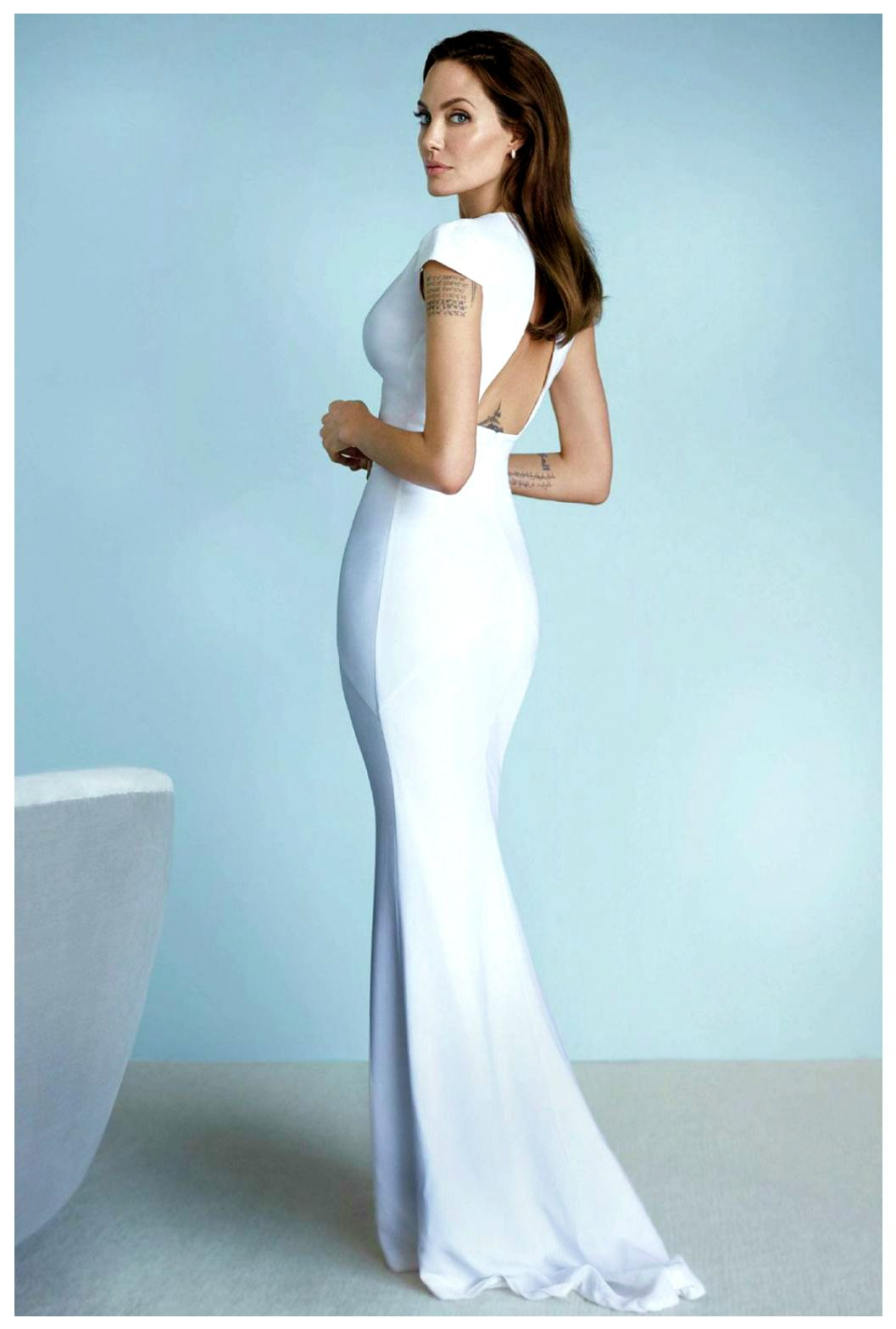 Roter Teppich Hollywood Kleider Robertocustodioart Angelina Jolie By Mario Testino 2014