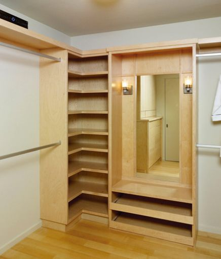 I Like This Closet Corner Option. Hate Wasted Space.