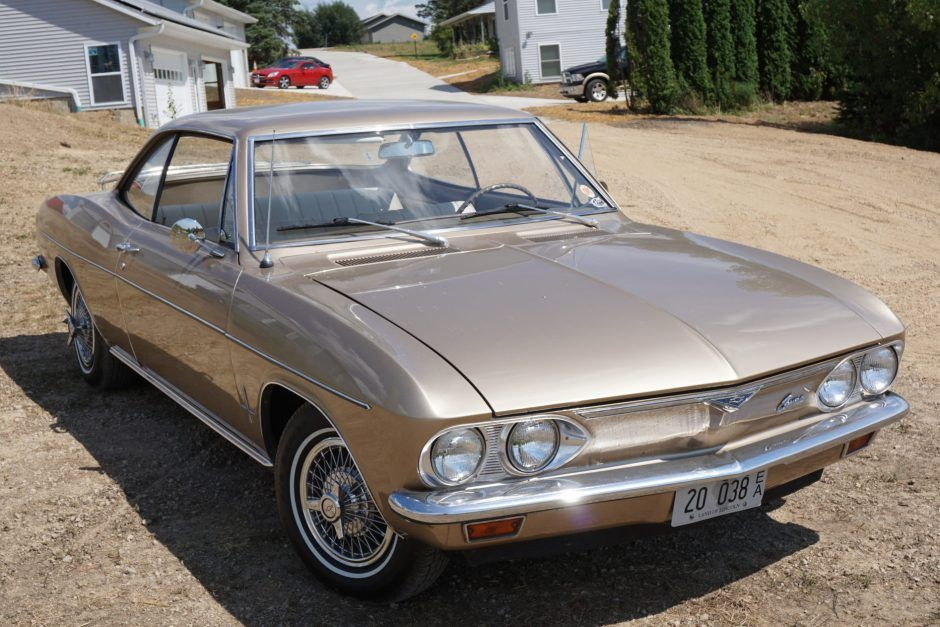 1966 Chevrolet Corvair Monza Coupe In 2020 Chevrolet Corvair Chevy Corvair Classic Cars
