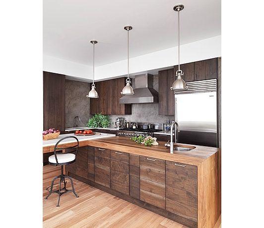Best Modern Walnut Kitchen Home And Garden Design Ideas 640 x 480