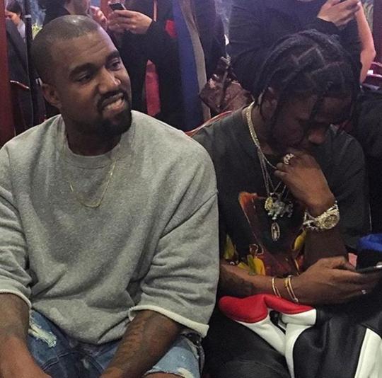 Laflamefuego Travis Scott Kanye West Style Kanye West