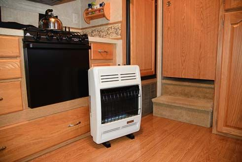 Rv Heater How To Install A Vent Free Propane Heater In An