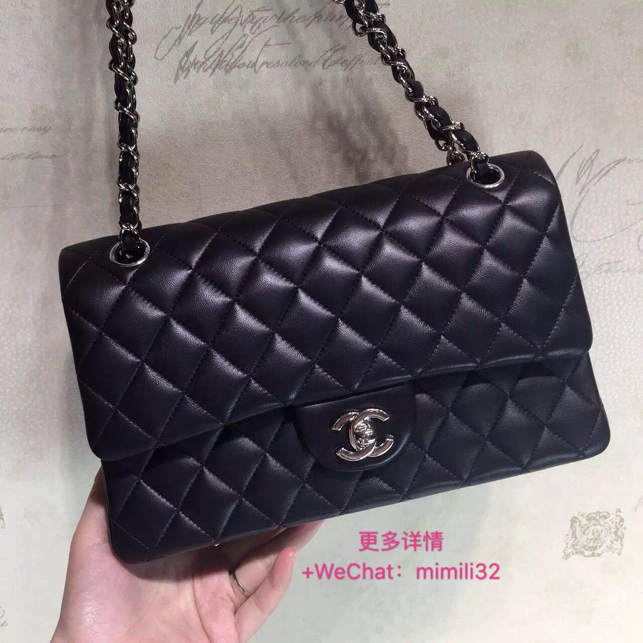 bce3548ff74a38 Chanel cf 25.5Cm, buy it+wechat:mimili32 | Chanel classic flap ...