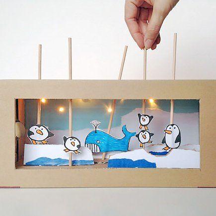 des marionnettes diy pour des heures de jeu theatre de marionnettes marionnette et th tre. Black Bedroom Furniture Sets. Home Design Ideas