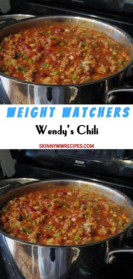 Wendy S Chili Weightwatchers Weight Watchers Healthy Skinny Food Recipes Smartpoints Wendy S Chili Breakfast Crockpot Recipes Weight Watchers Meals
