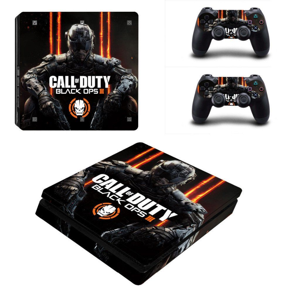 Call of duty black ops 3 playstation 4 vinyl sticker