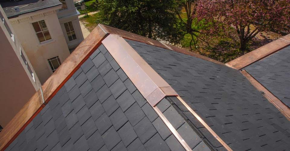 Pin By Toby Larsen On Metal Roof In 2020 Copper Roof Metal Roof Roof Shingles