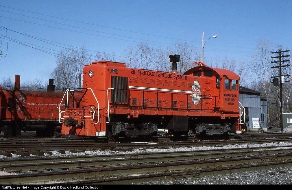 AA 7 Ann Arbor Railroad Alco S3 at Toledo, Ohio by David