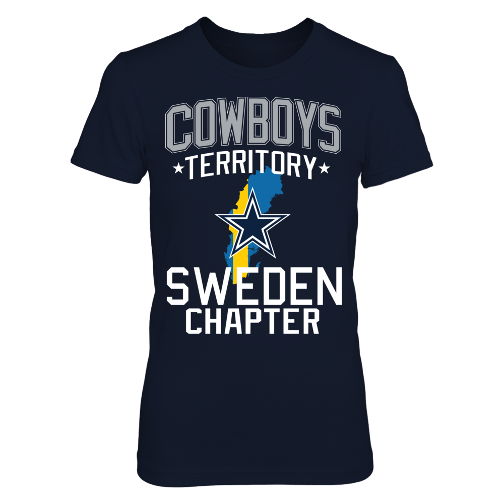 6f60d08f9 Dallas Cowboys - Cowboys Territory Sweden Chapter T-Shirt