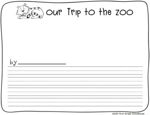 Zoo Field Trip Printables Field trips, Classroom freebies and Fields