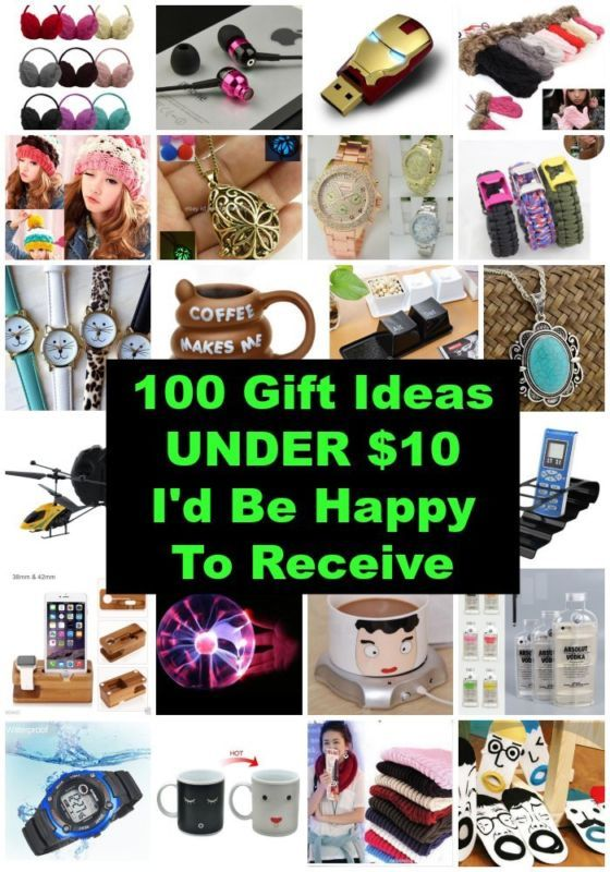100 Christmas Gift Ideas Under 10 I D Be Happy To Receive