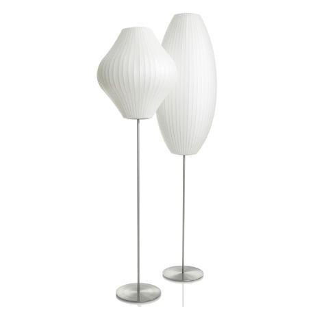 Nelson Cigar Lotus Floor Lamp In 2020 Floor Lamp Nelson Bubble Lamp Lamp