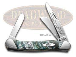 CASE XX Slant Series Cloudland Medium Stockman 1/2500 Stainless Pocket Knife - CA9318-S-CL | 9318-S-CL - 026615904687