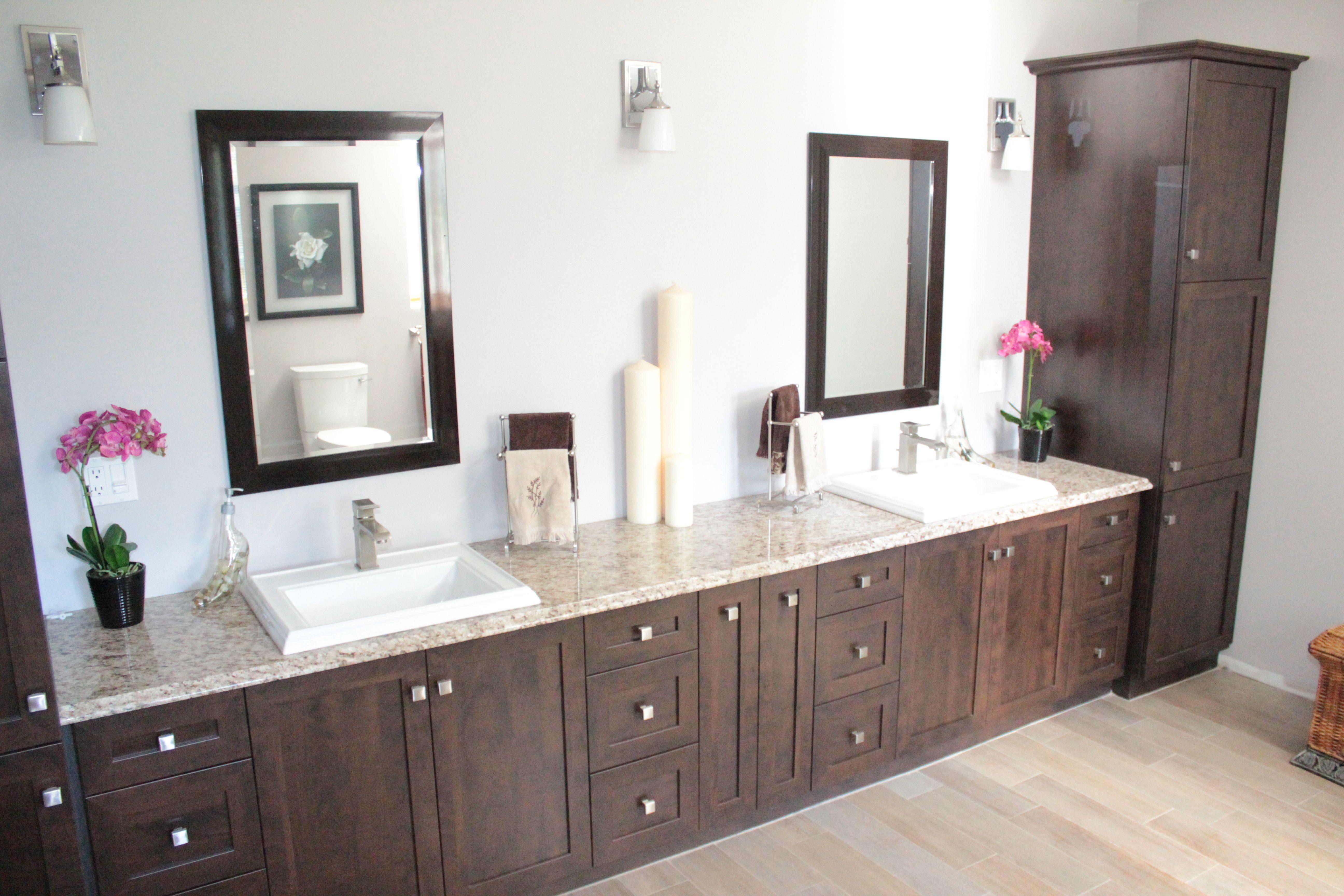 Custom Bathroom By Leeds Cabinets Bathroom Vanity Cabinet