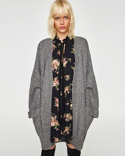 Image 2 of OVERSIZED WOOL CARDIGAN from Zara   Style inspiration ... 040d11ea368e