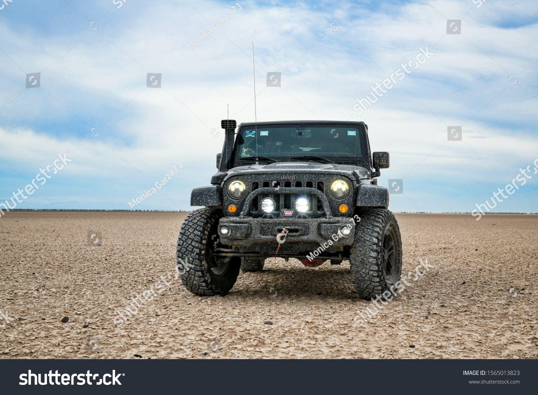 Coahuila Mexico November 16 2019 All Terrain Vehicle Jeep In A Desert Lands In 2020 All Terrain Vehicles