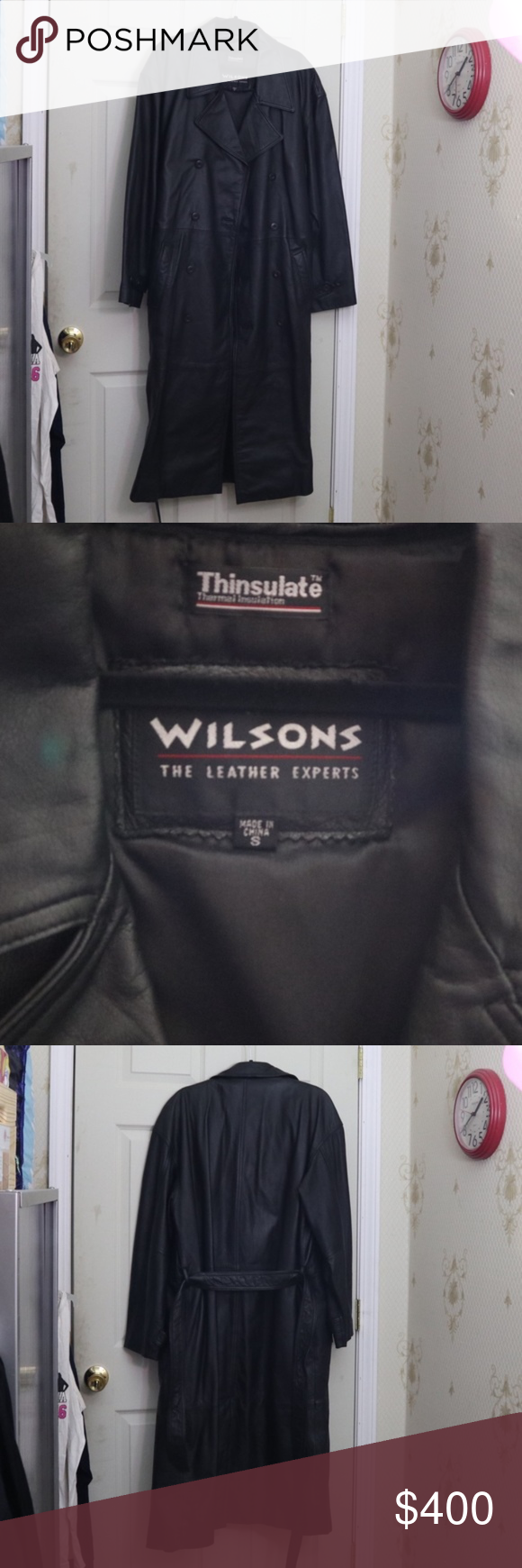 Wilsons Leather Size S Wilsons Leather Size Chart Size S