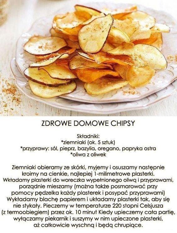 Dietetyczne domowe chipsy