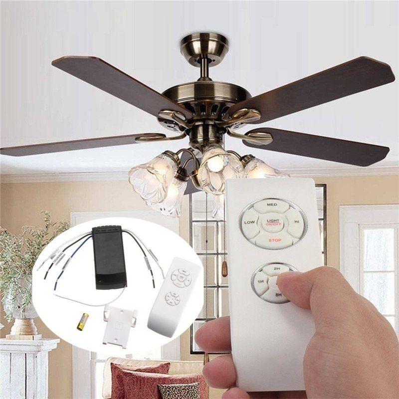 30m Universal Ceiling Fan Light Lamp Remote Controller Kit