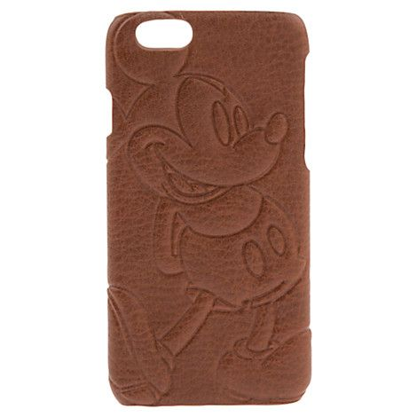 Mickey Mouse Leather Iphone 6 Case Disney Store Fundas