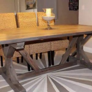 Farmhouse Dining Table Plans Ideas Intended For Proportions 1024 X 768 Vintage Extension
