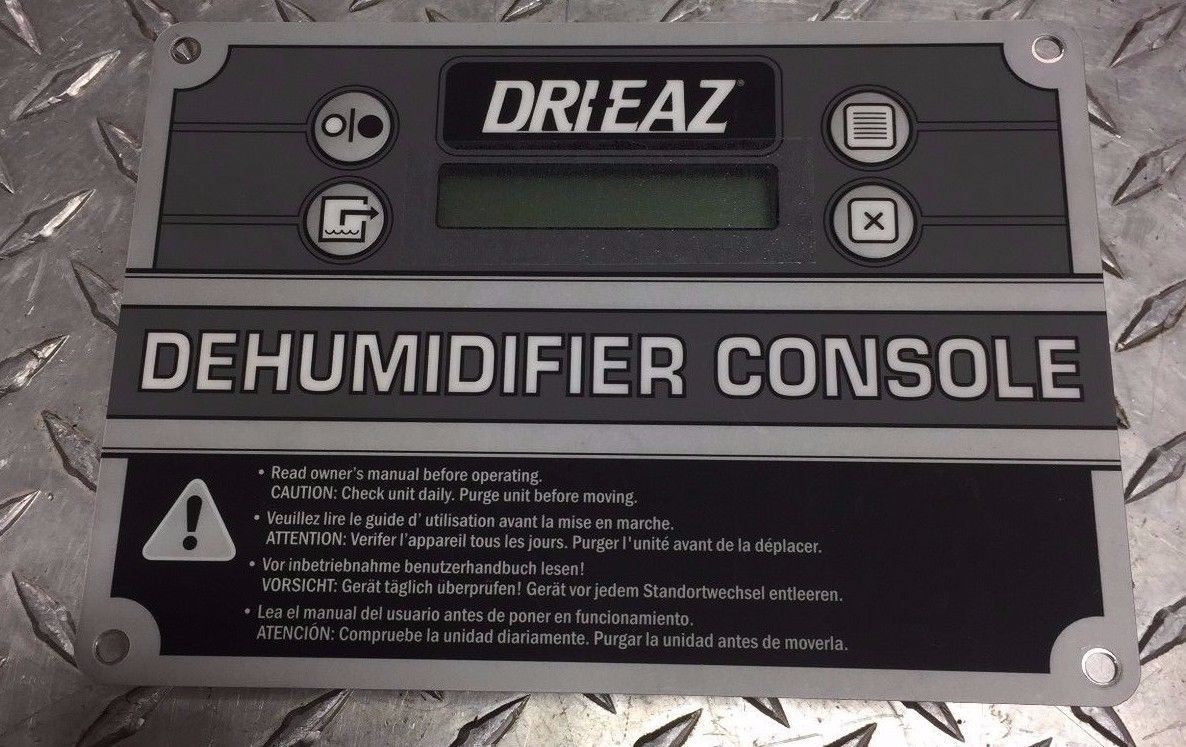 DRI-EAZ 0800259 dehumidifier control panel https://t.co/Cj2g9EP2CG https://t.co/TMz9YthsFv