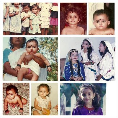 Malayalam Actress Bhama Childhood Photos
