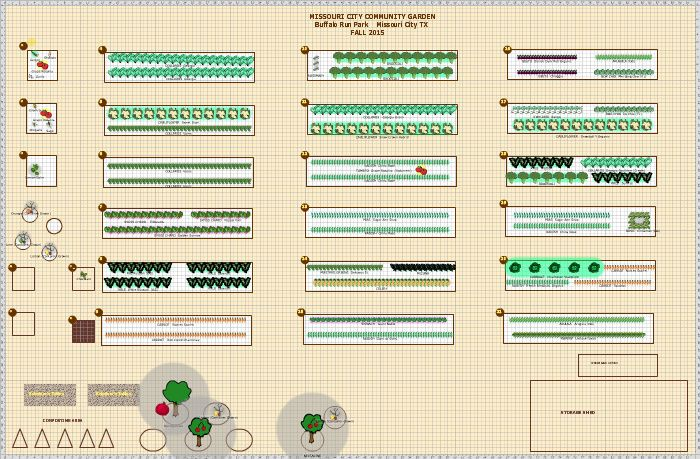 Garden Plan - 2015: Missouri City Community Garden (With ...
