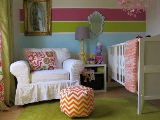 Una habitación de colores para Elia. Una niña con suerte :) #kids #decoracion