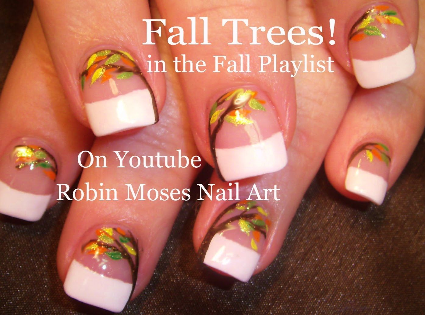 Nail art tutorial diy easy fall and thanksgiving nail design nail art tutorial diy easy fall and thanksgiving nail design tutorial prinsesfo Image collections