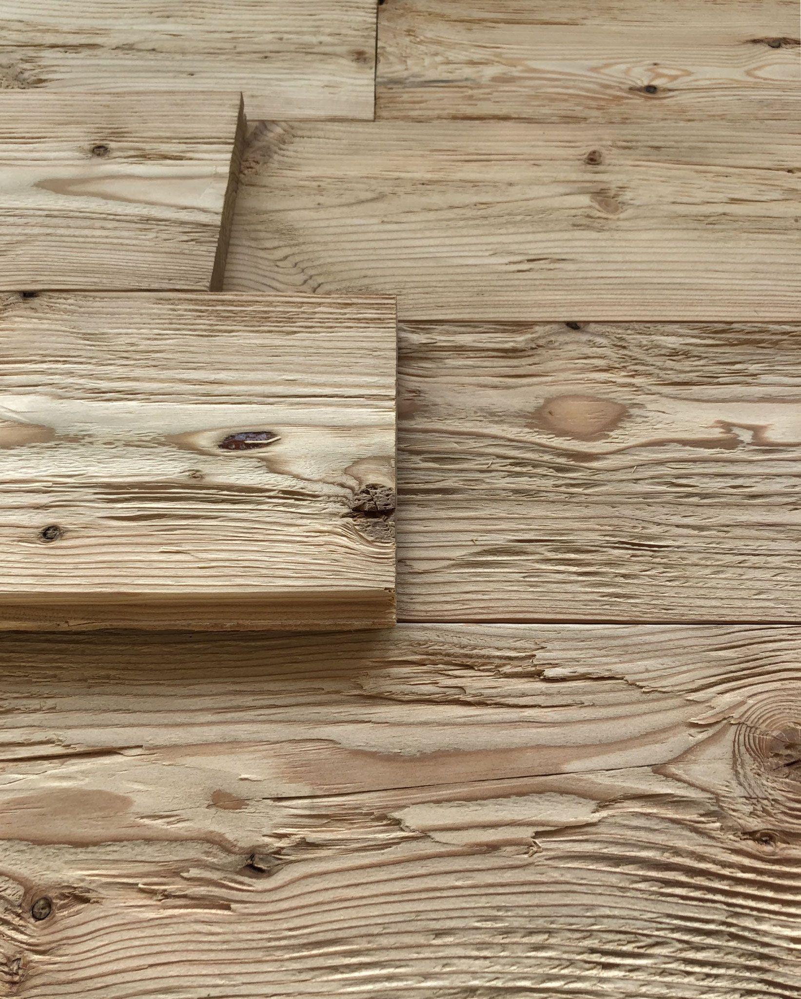 Rustikale Wandverkleidung Larche Gehackt Geburstet Vintage Holz Wandverkleidung Altholz Wandverkleidung Rustikaler Holztisch