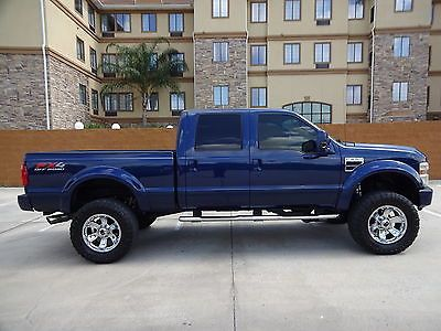2008 Ford Super Duty F250 Fx4 Crew Cab 6 4l Powerstroke Turbo Diesel Engine Ford Super Duty F250 Ford