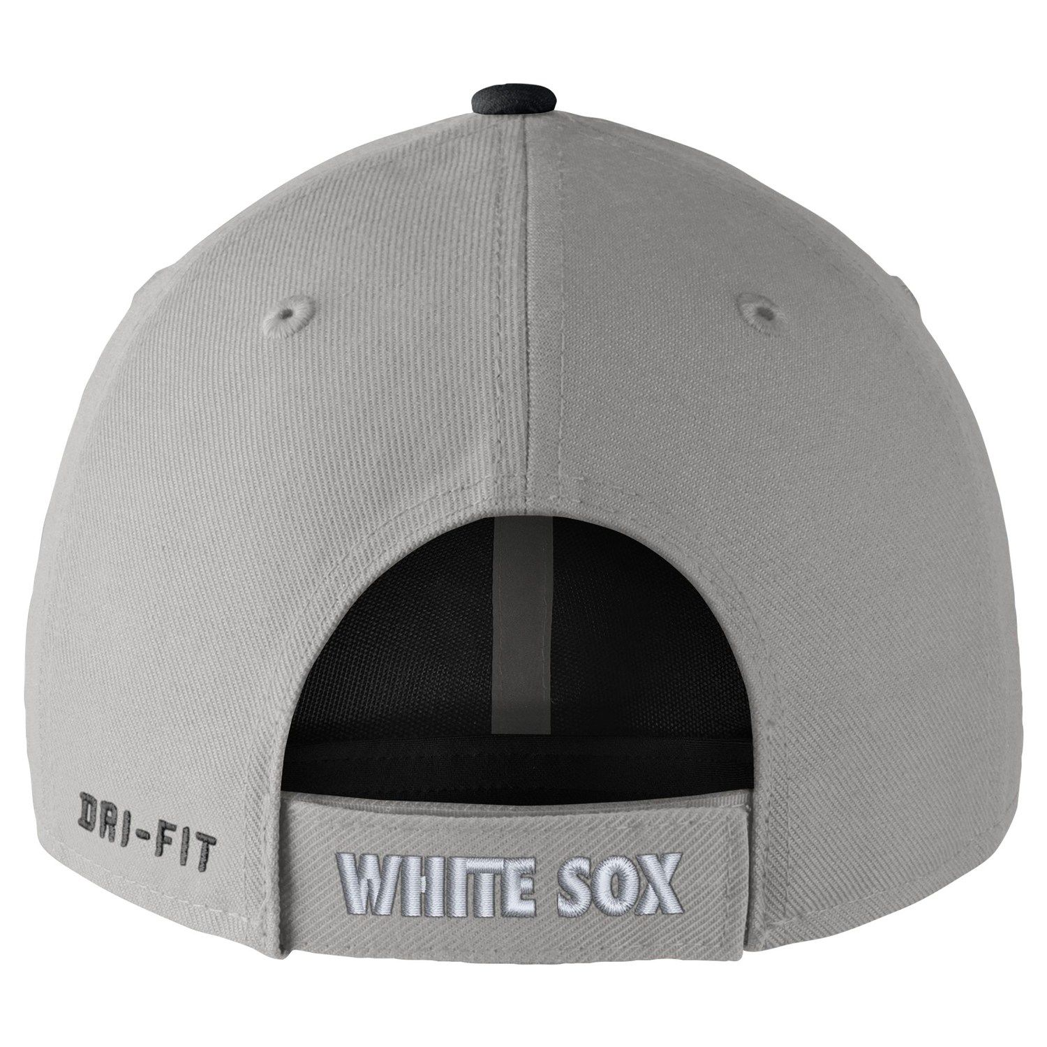 80a87eff56bf7 Adult Nike Chicago White Sox Wool Classic Dri-FIT Adjustable Cap  White