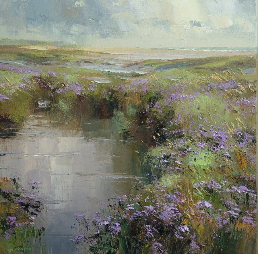 Rex Preston, 1948 | Abstract Landscape painter | Tutt'Art@ | Pittura • Scultura • Poesia • Musica