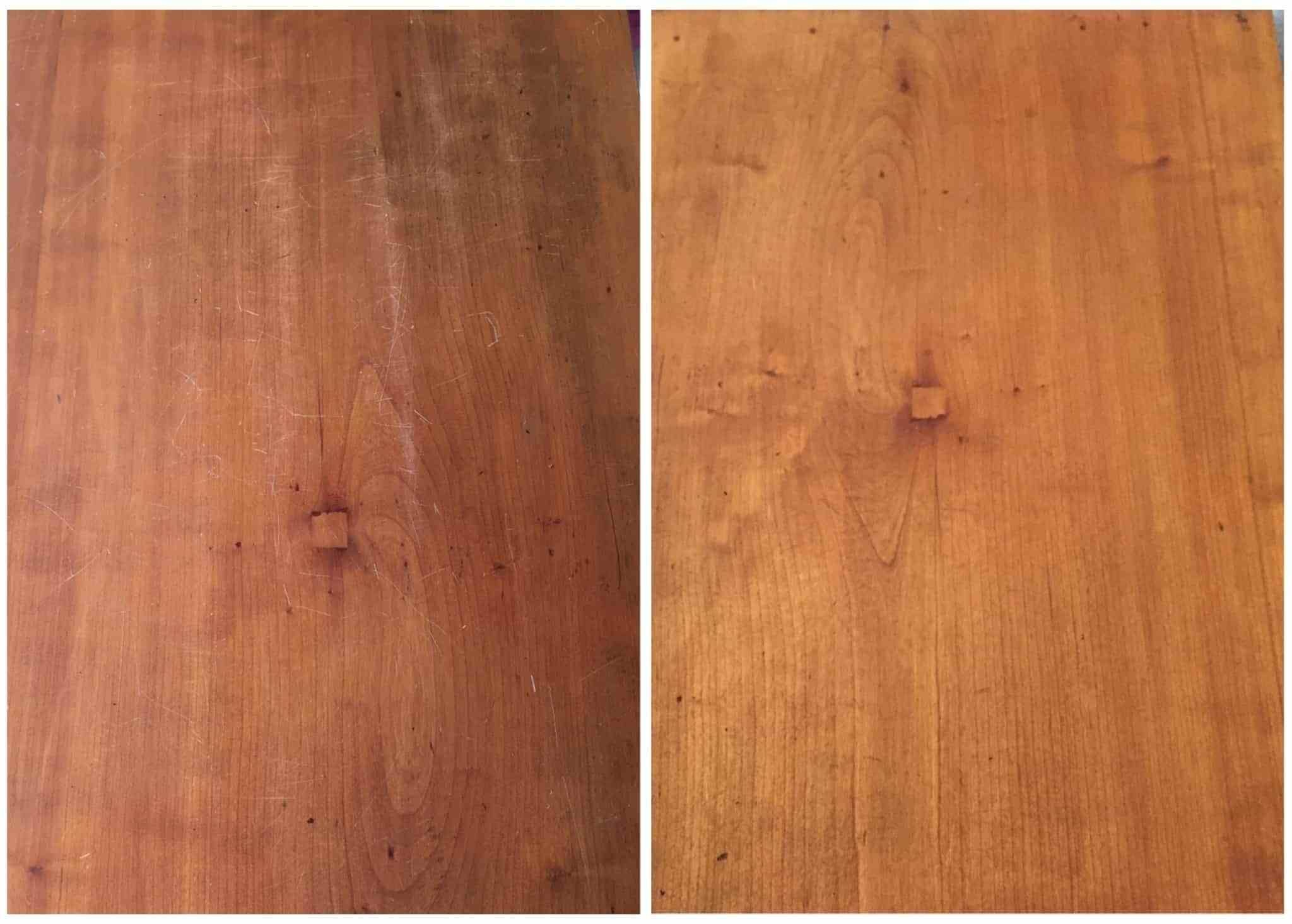 Refinishing Furniture To Make It Look New Again With Only 2 Household Items Refinishingwood Refinishingfurniture