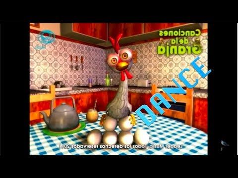 La Gallina Turuleca Dance Remix Canciones Infantiles Youtube