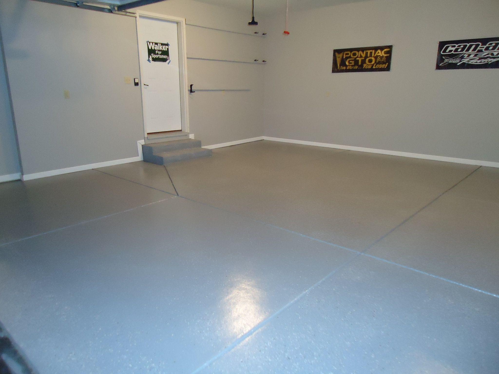 Epoxy Garage Floor Coating Painted Walls And Trim Painted Floor Coating Garage Floor Coatings Epoxy Garage Floor Coating