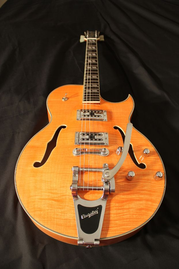 the bigsby B70 and bowtie bridge are additional