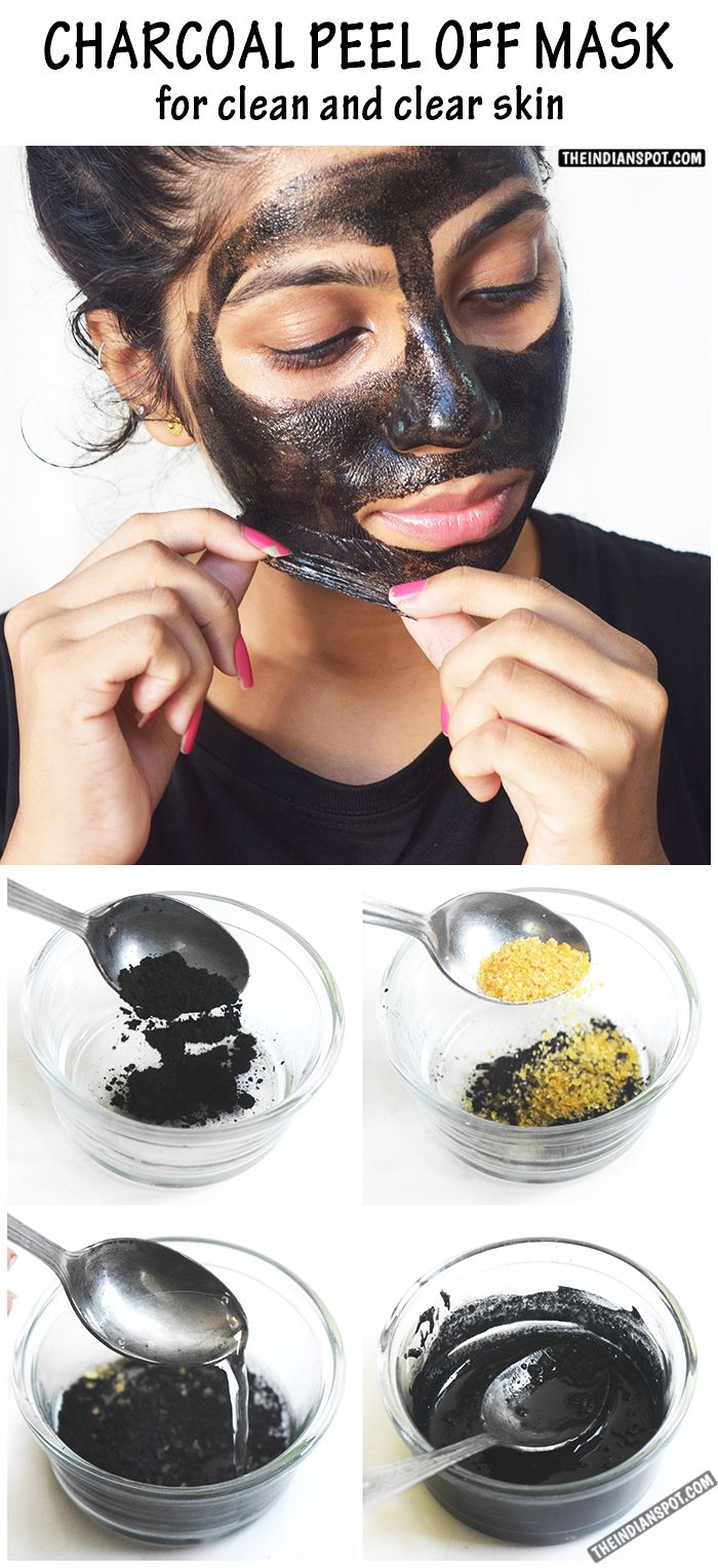 Beauty diy charcoal peel off mask for clean and clear skin activated charcoal has been used effectively in the healing arts for centuries charcoal can do charcoal peel off maskuses for charcoalface solutioingenieria Images