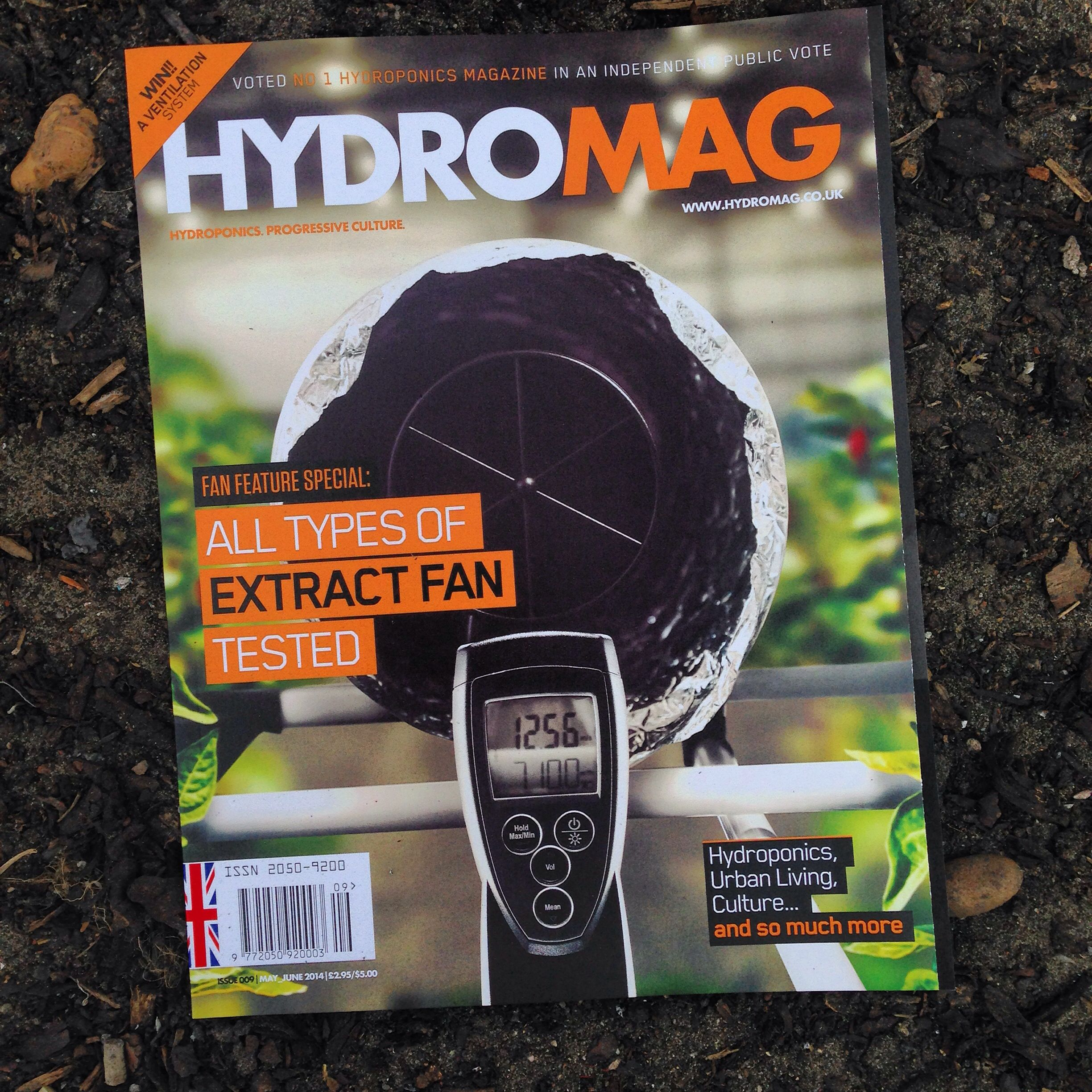 Hydromag available free with every order from www.hg-hydroponics.co.uk