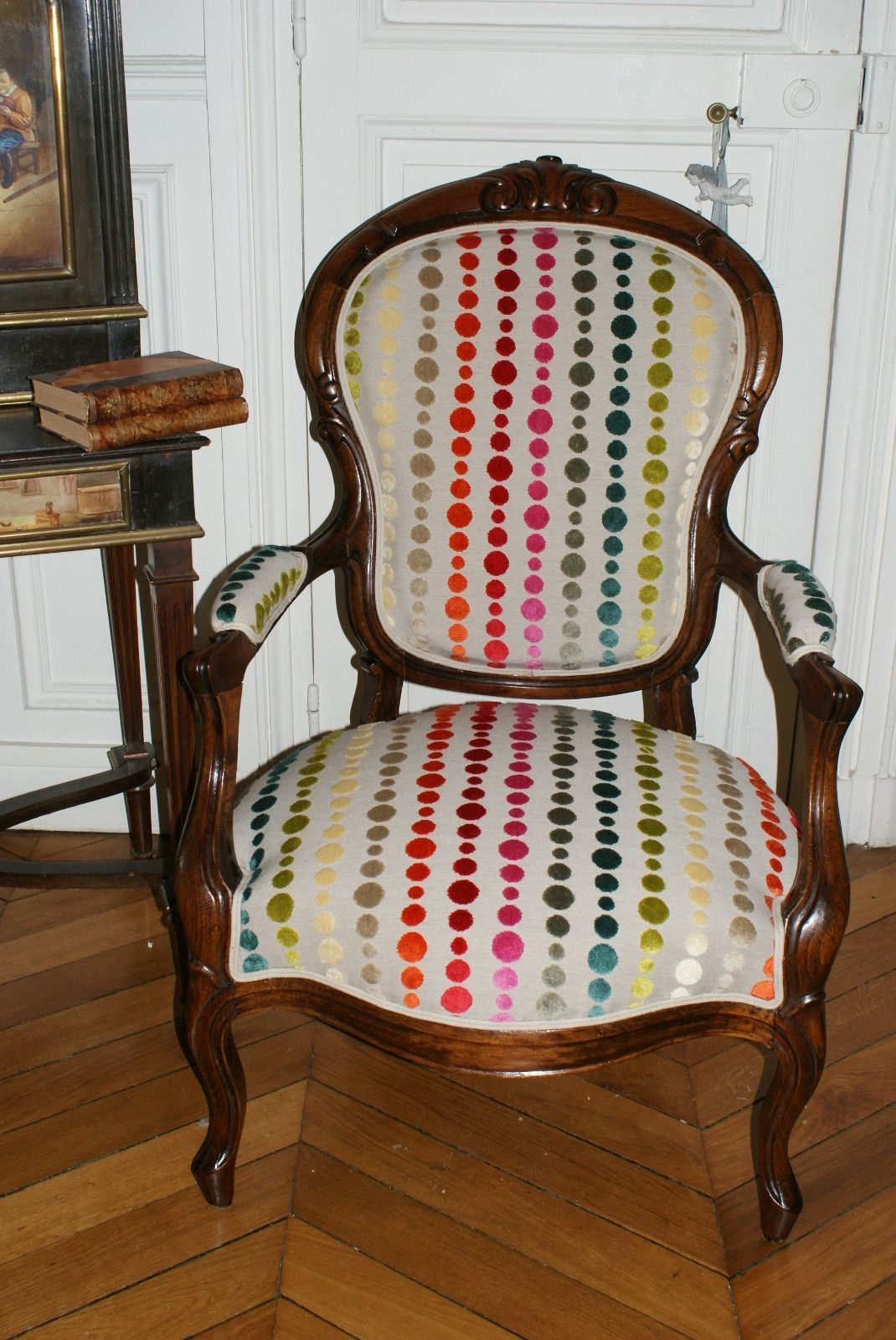 rsultat de recherche dimages pour fauteuil napoleon iii multicolore - Fauteuil Napoleon 3