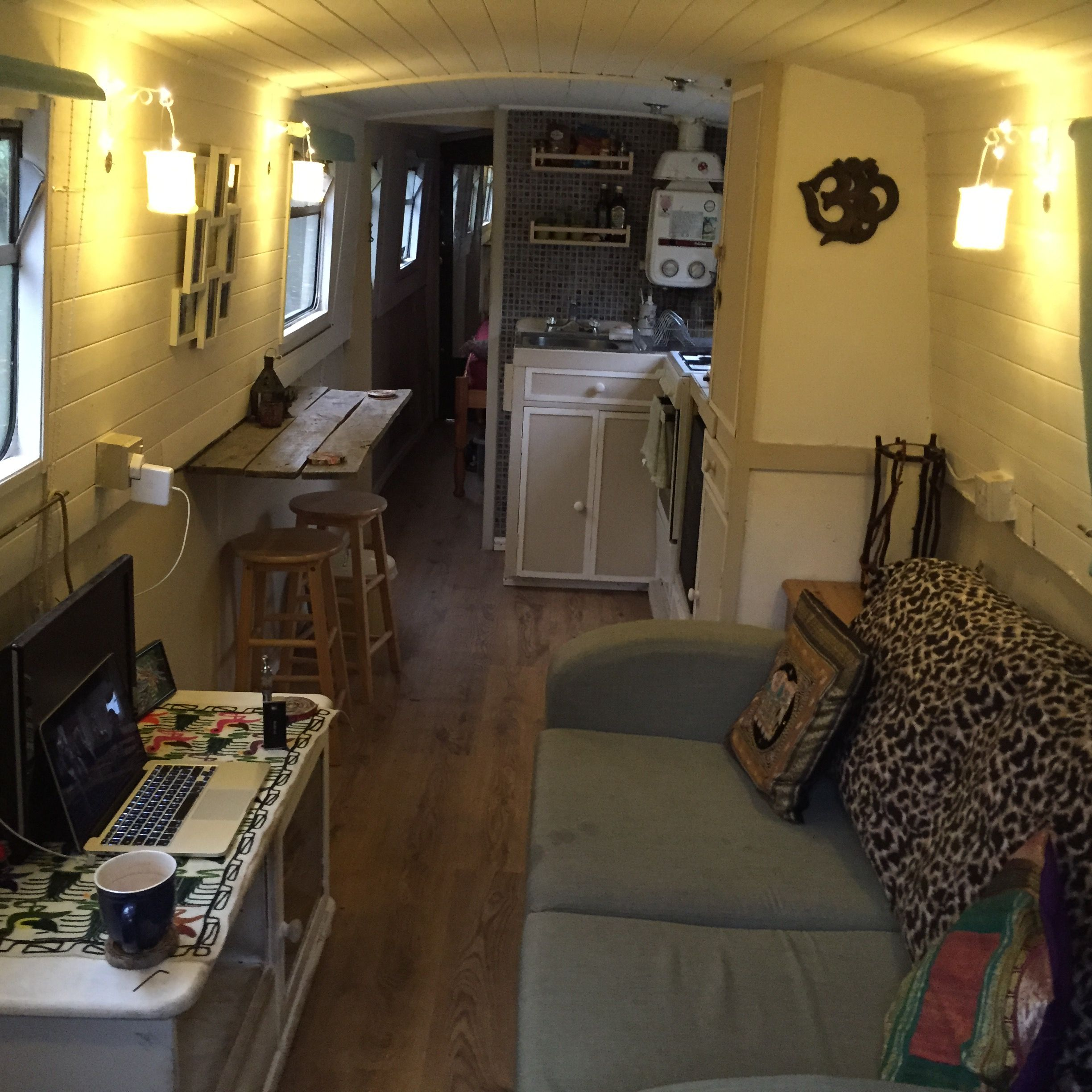 Image result for modern narrowboat interiors | Narrowboat ...